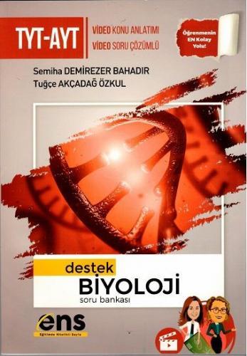 ENS Yayıncılık TYT AYT Biyoloji Destek Soru Bankası