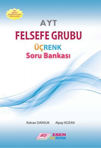 Esen Yayınları AYT Felsefe Grubu Üçrenk Soru Bankası