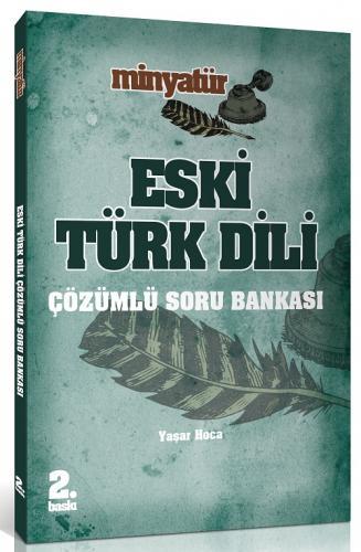 Yönerge KPSS ÖABT Minyatür Eski Türk Dili Çözümlü Soru Bankası 2019