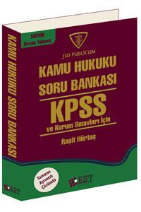 EST KPSS Kamu Hukuku Soru Bankası 2016 - Raşit Hürtaş