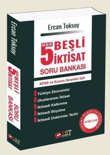 EST KPSS ve Kurum Sınavları İçin 5 Beşlik Beşli İktisat Soru Bankası