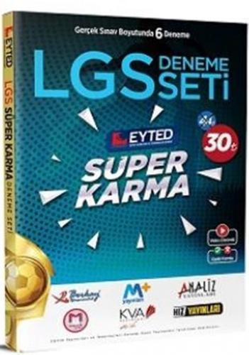 Eyted 8. Sınıf LGS Süper Karma 6 lı Deneme Seti %40 indirimli Komisyon