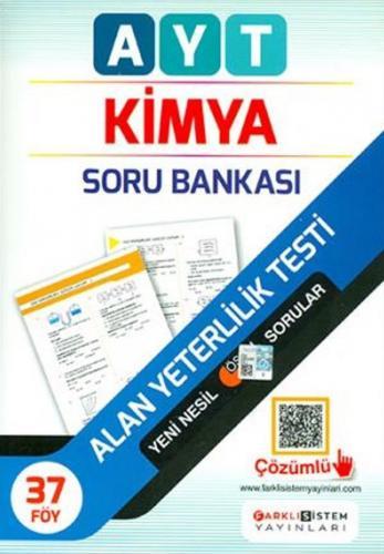 Farklı Sistem Yayınları AYT Kimya Soru Bankası