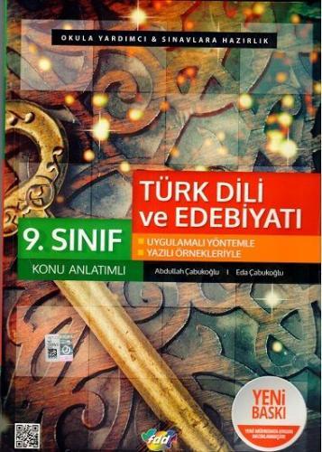 FDD 9. Sınıf Türk Dili ve Edebiyatı Konu Anlatımlı