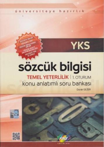 FDD YKS 1. Oturum TYT Sözcük Bilgisi Konu Anlatımlı Soru Bankası