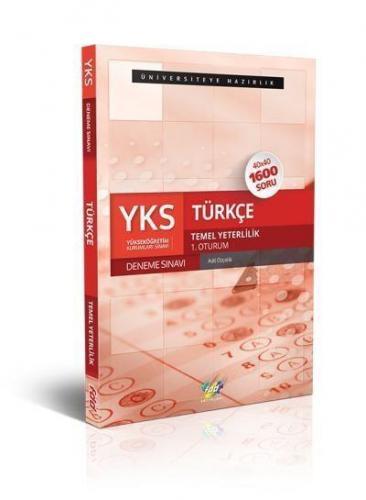 FDD YKS Türkçe 40x40 Deneme Sınavı Temel Yeterlilik 1.Oturum