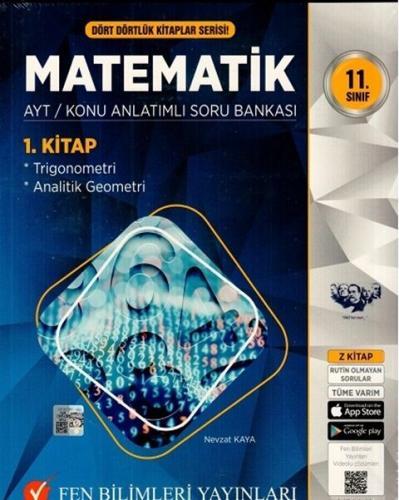 Fen Bilimleri Yayınları 11. Sınıf Matematik Konu Anlatımlı Soru Bankas