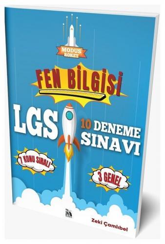 Modus Yayınları 8. Sınıf LGS Fen Bilgisi Roket 10 Deneme