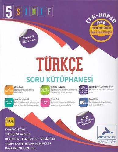 PRF 5. Sınıf Türkçe Soru Kütüphanesi Çek Kopar