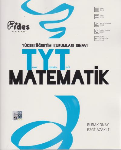 Fides YKS TYT Matematik Konu Özetli Konu Testli