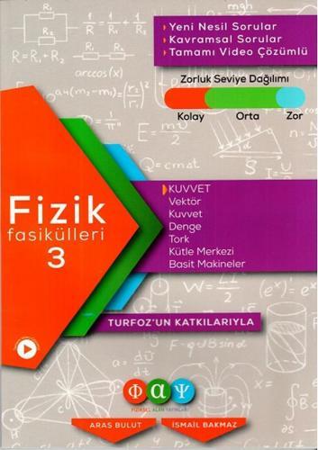 Fiziksel Alan Yayınları Fizik Fasikülleri 3 Kuvvet