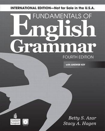 Fundamentals of English Grammar (International)