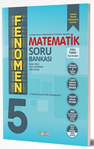 Gama Okul Yayınları 5. Sınıf Matematik Fenomen Soru Bankası