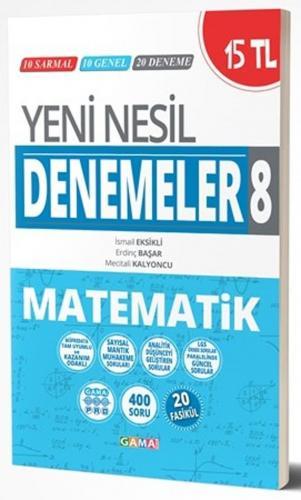 Gama Okul Yayınları 8. Sınıf Matematik Yeni Nesil Denemeler