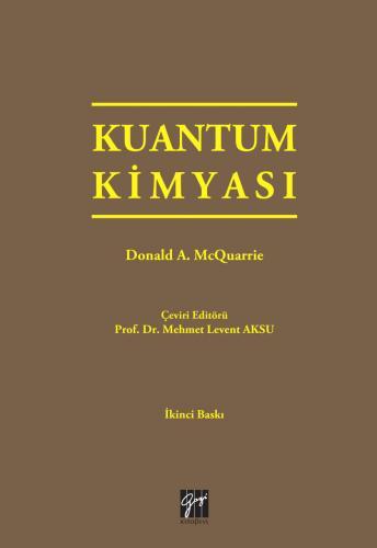 Gazi Kuantum Kimyası - Donald A. McQuarric