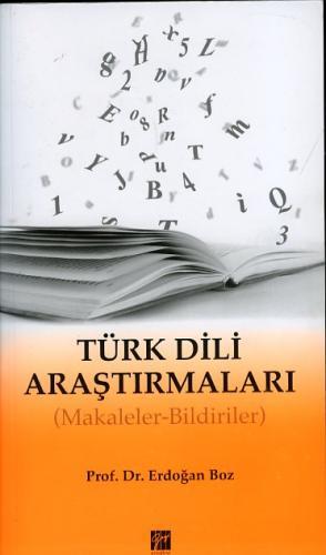 Gazi Türk Dili Araştırmaları - Makaleler Bildiriler %10 indirimli Erdo