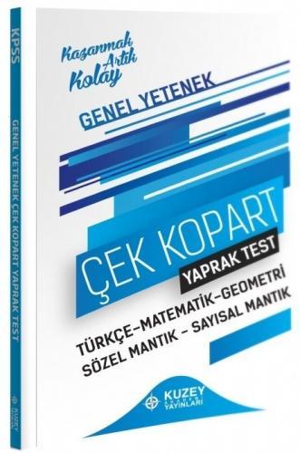 Kuzey Akademi 2021 KPSS Genel Yetenek Yaprak Test Çek Kopart Komisyon