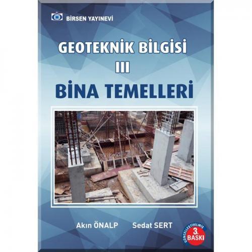 Geoteknik Bilgisi 3 Bina Temelleri