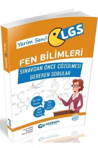 Gezegen Yayınları LGS Fen Bilimleri Sınavdan Önce Çözülmesi Gereken Sorular