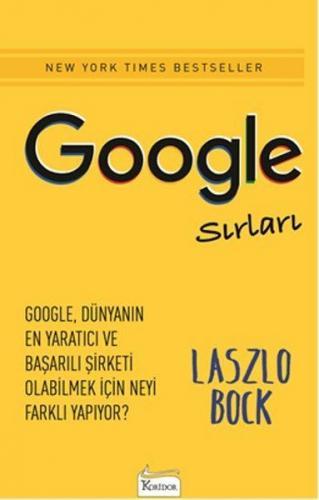 Google Sırları - Laszlo Bock Laszlo Bock
