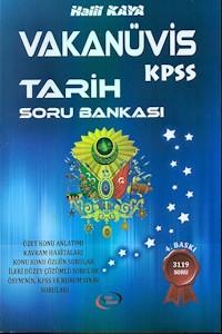 Grup Vizyon Vakanüvis KPSS Tarih Soru Bankası 2016