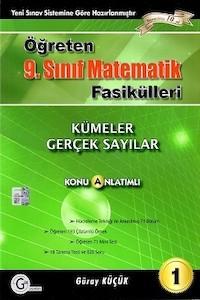Gür Yayınları 9. Sınıf Öğreten Matematik Fasikülleri 1 Kümeler Gerçek Sayılar