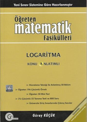 Gür Öğreten Matematik Fasikülleri Logaritma