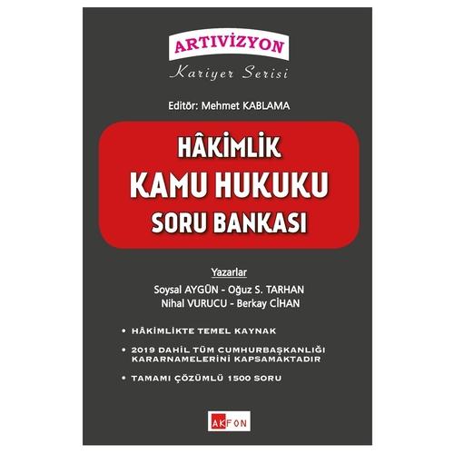 Hakimlik Kamu Hukuku Soru Bankası  Soysal Aygün  Mehmet Kablama