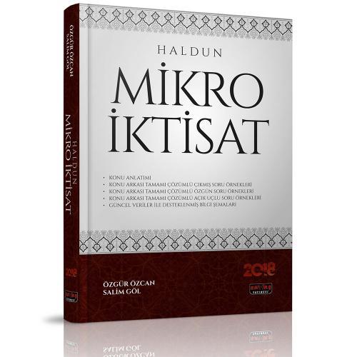 HALDUN Mikro İktisat - Özgür Özcan, Salim Göl %30 indirimli Özgür Özca