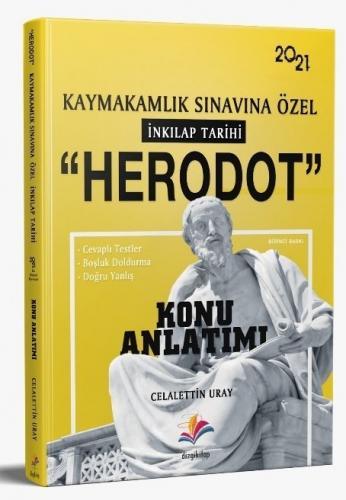 Dizgi Kitap 2021 Kaymakamlık HERODOT İnkılap Tarihi Konu Anlatımı Cela