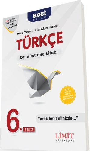 Limit 6. Sınıf Türkçe Konu Bitirme Kitabı