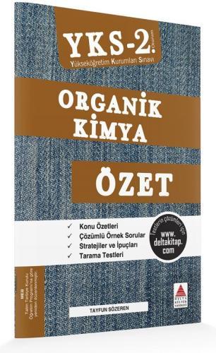 Delta Kültür AYT Organik Kimya Özet