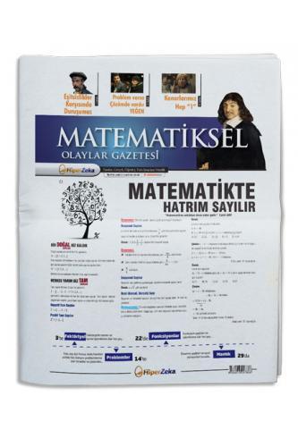 Hiper Zeka Tüm Sınavlar İçin Matematiksel Olaylar Gazetesi