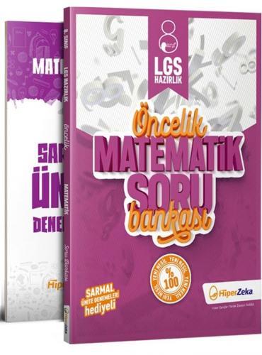 Hiper Zeka Yayınları 8. Sınıf LGS Matematik Öncelik Soru Bankası