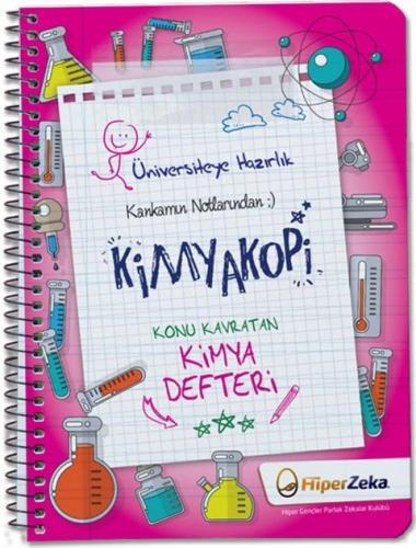 Hiper Zeka Yayınları Kankamın Notlarından Kimyakopi Konu Kavratan Kimya Defteri
