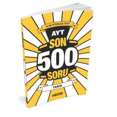 Hız AYT Son 500 Soru Tarih