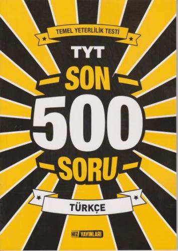Hız TYT Son 500 Soru Türkçe