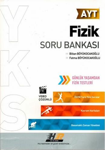 Hız ve Renk Yayınları AYT Fizik Soru Bankası