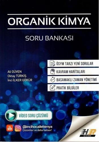 Hız ve Renk Yayınları AYT Organik Kimya Soru Bankası Ali Güven