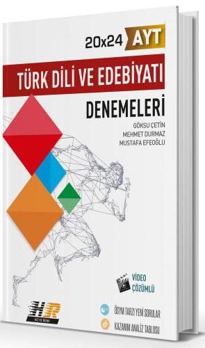 Hız ve Renk AYT Türk Dili ve Edebiyatı 20x24 Denemeleri