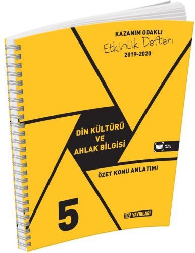 Hız Yayınları 5. Sınıf Din Kültürü ve Ahlak Bilgisi Etkinlik Defteri
