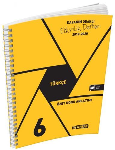 Hız Yayınları 6. Sınıf Türkçe Etkinlik Defteri