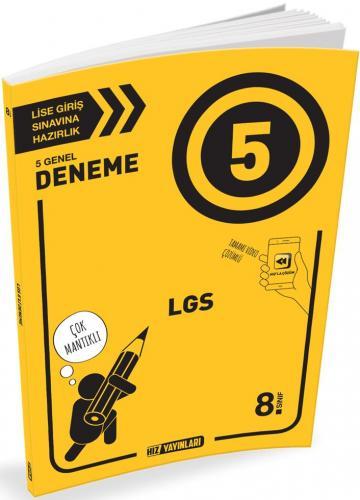Hız Yayınları 8. Sınıf LGS 5 Genel Deneme
