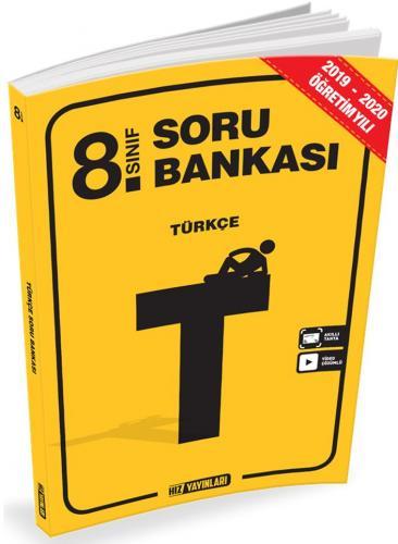 Hız Yayınları 8. Sınıf Türkçe Soru Bankası Komisyon