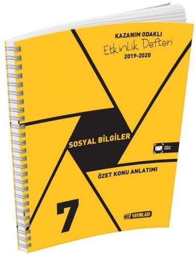 Hız Yayınları 7. Sınıf Sosyal Bilgiler Etkinlik Defteri