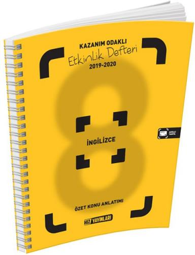 Hız Yayınları 8. Sınıf İngilizce Etkinlik Defteri