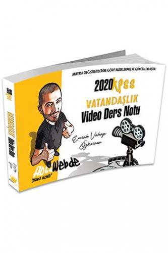 HocaWebde Yayınları 2020 KPSS Vatandaşlık Video Ders Notu %40 indiriml