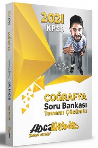 Hocawebde Yayınları 2021 KPSS Coğrafya Tamamı Çözümlü Soru Bankası Eng