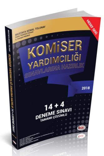 Hür Komiser Yardımcılığı Sınavlarına Hazırlık 14+4 Deneme Sınavı Tamamı Çözümlü 2018 - Mustafa Kemal Tolunay