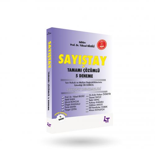 4T Sayıştay Tamamı Çözümlü 5 Deneme Yüksel Bilgili